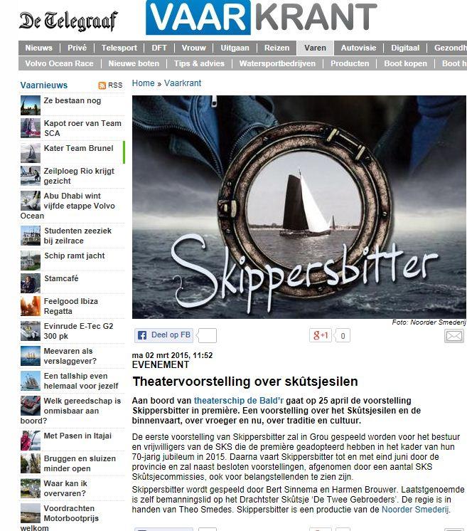 skippersbitter telegraaf